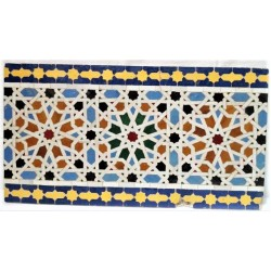 Back splash Moroccan Jellije.