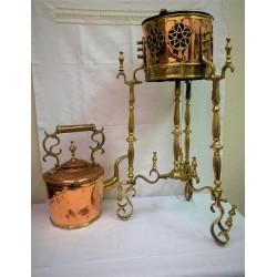 Charcoal teapot