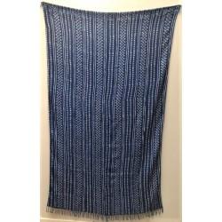 Cotton Indigo blue Shawl